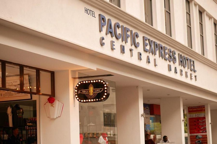 pacific express central market front